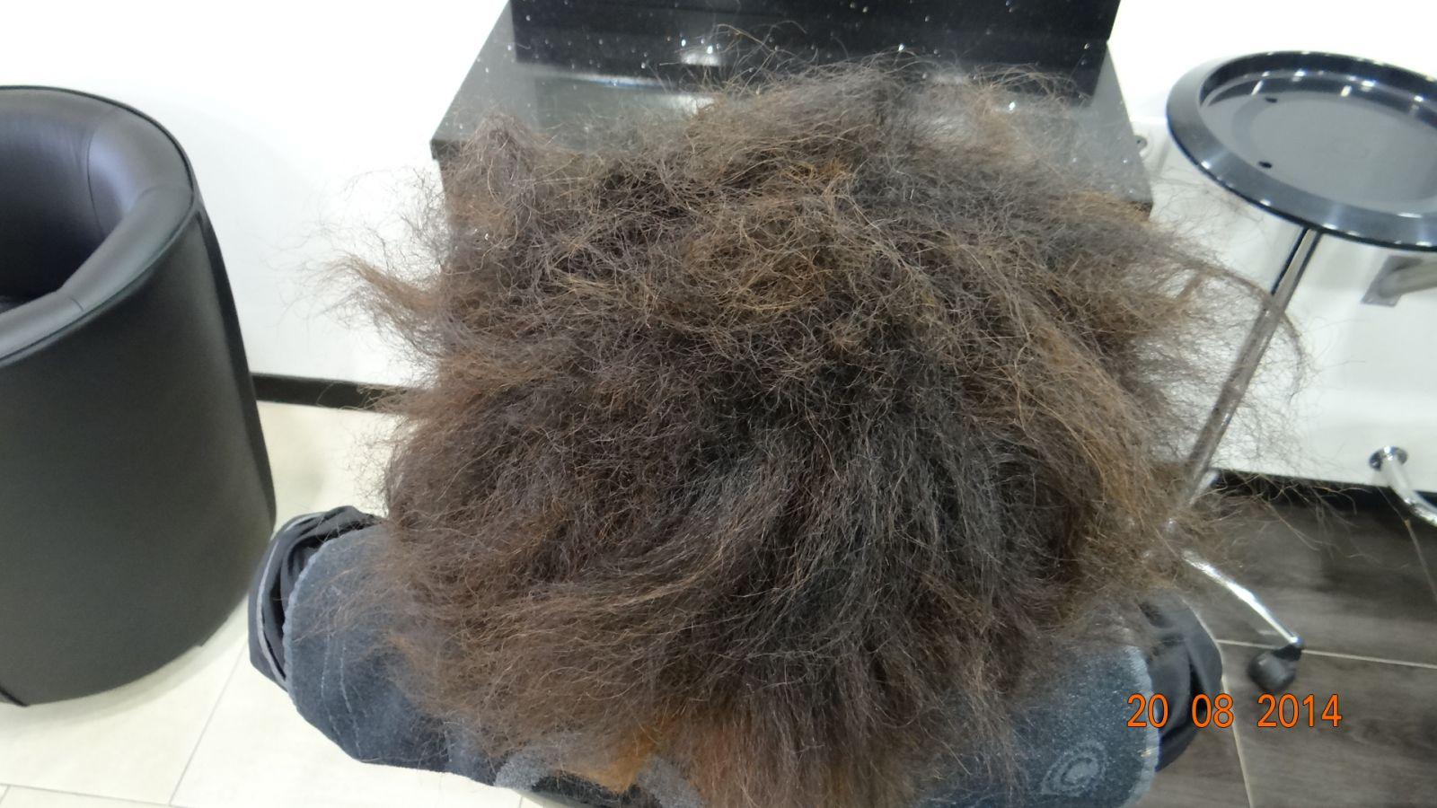 r alisation de lissage sur cheveux mi longs avant apr s coiffeur visagiste marseille djoyli. Black Bedroom Furniture Sets. Home Design Ideas